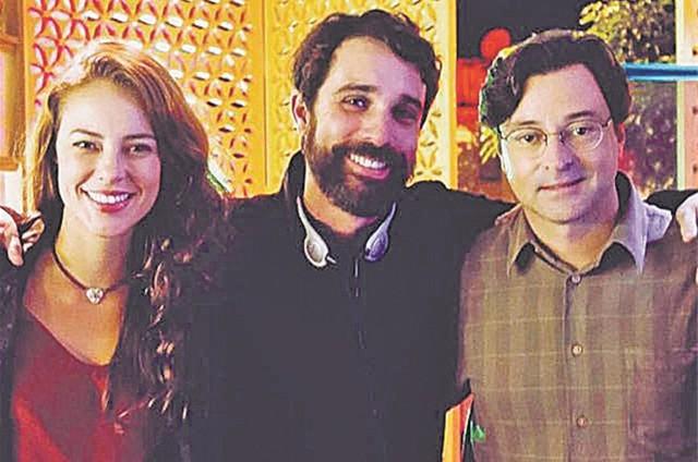 Paolla Oliveira, Rodrigo Bittencourt e Emílio Orciollo Netto (Foto: Arquivo pessoal)