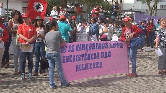 Cidades de SC realizam atos pelo Dia Internacional da Mulher