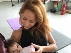Duda Nagle posta foto de Sabrina Sato com a sobrinha: 'Lindas'