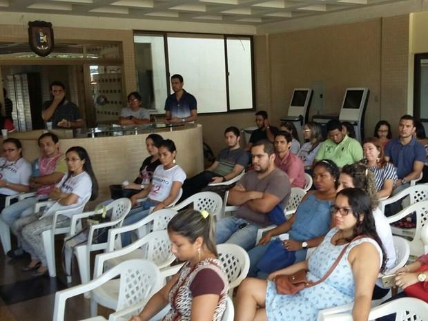 Paralisação, servidores técnicos, Unifap, Amapá (Foto: Arlene Costa/Arquivo Pessoal)
