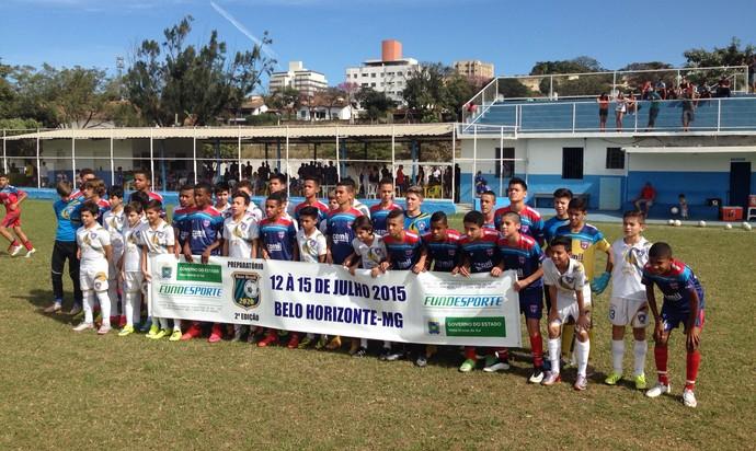 Times do Grêmio Santo Antônio e Futgol, em Minas Gerais (Foto: Divulgação/GSA)