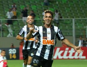 Netol Berola, atacante do Atlético-MG (Foto: Reprodução / TV Globo Minas)