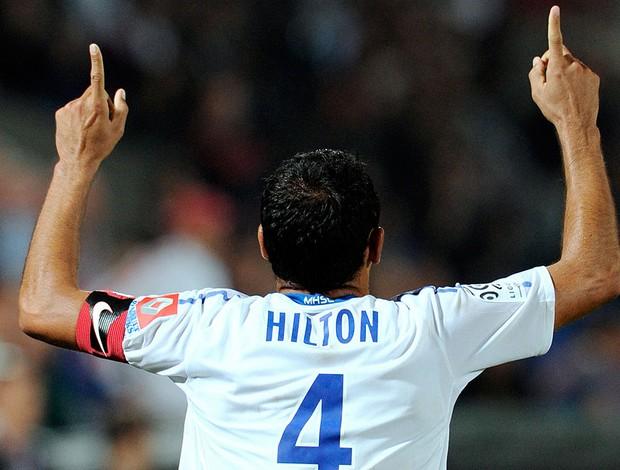 Vitorino Hilton - Montpellier (Foto: Agência AFP)