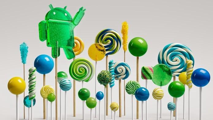 Baixe os novos papéis de parede do Android Lollipop (Foto: Reprodução/Marvin Costa)