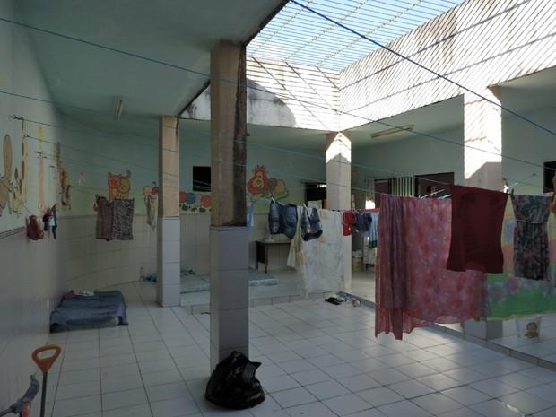 Berçário Zilda Arns foi o primeiro a ser inaugurado em uma colonia penal em Pernambuco (Foto: Débora Soares/G1)