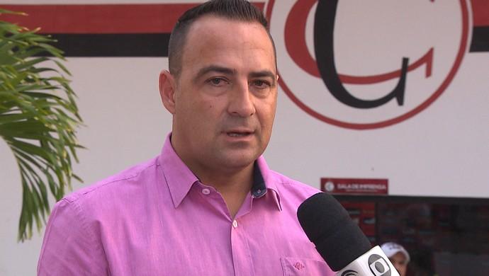 Paulo Foiani, técnico do Campinense (Foto: Reprodução / TV Paraíba)