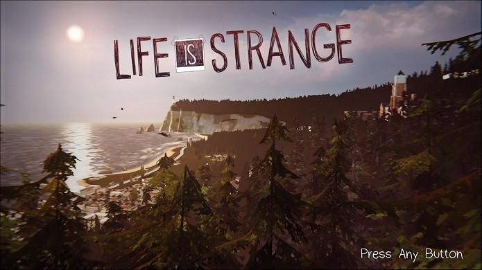 Life is Strange: Tela inicial já mostra a beleza do jogo (Foto: Reprodução/Emanuel Schimidt)