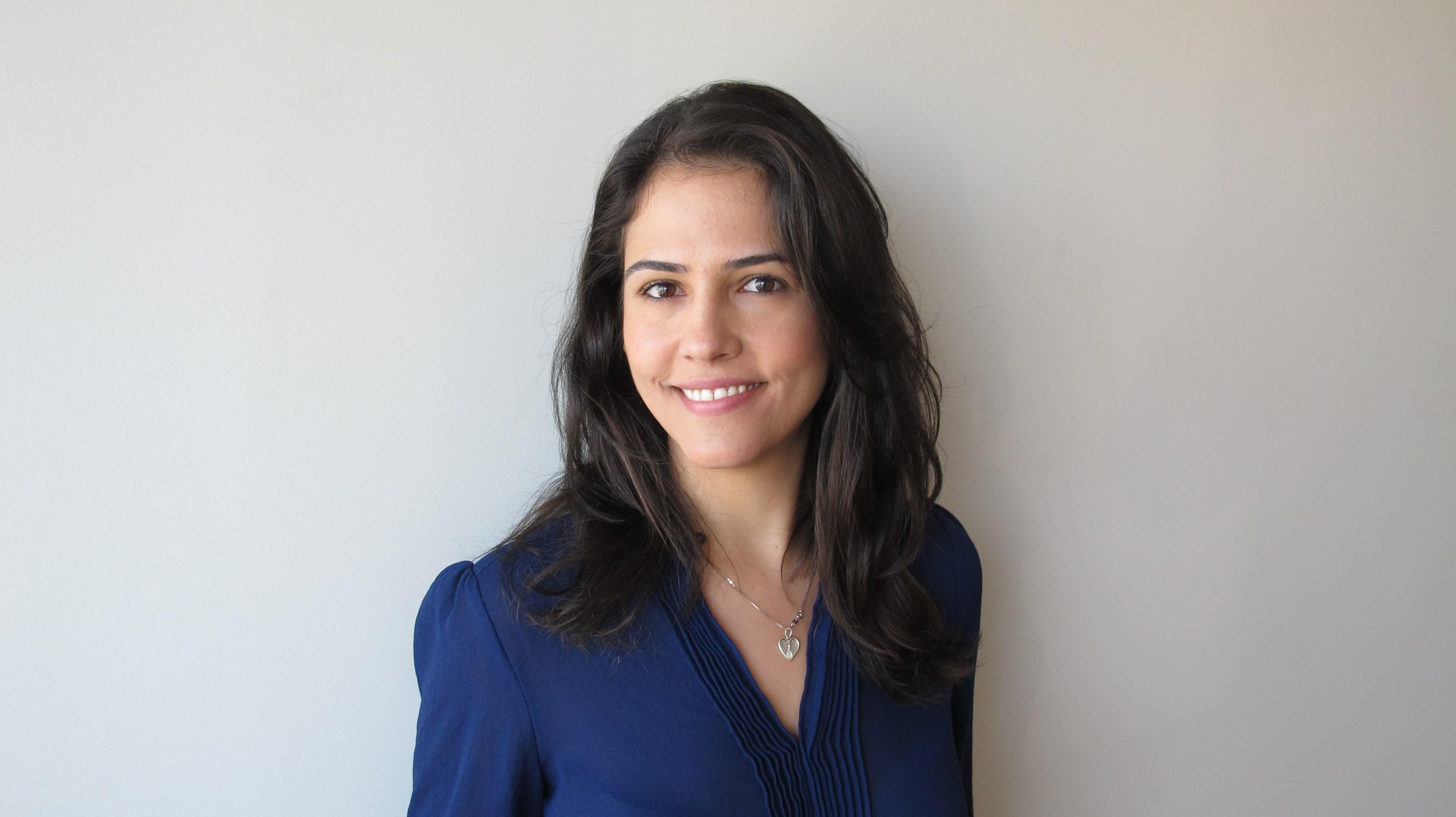 A jovem escritora Isabela Noronha