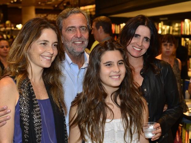 Cládia Abreu e Malu Mader em lançamento de livro no Rio (Foto: André Muzell/ Ag. News)