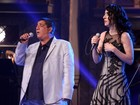 Zeca Pagodinho canta com Marisa Monte em gravao de DVD