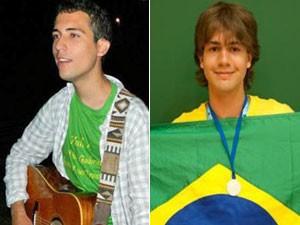 Gabriel Guimarães e Ivan Tadeu foram aceitos em dezembro (Foto: Arquivo pessoal)