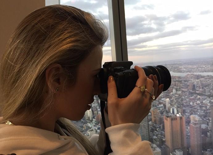 A vista do One World Trade Center foi registrada em cada detalhe por Fernanda Keulla (Foto: Divulgação)