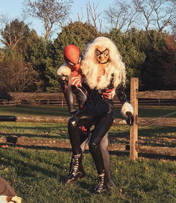 Gigi Hadid no Halloween (Foto: Instagram/Reprodução)