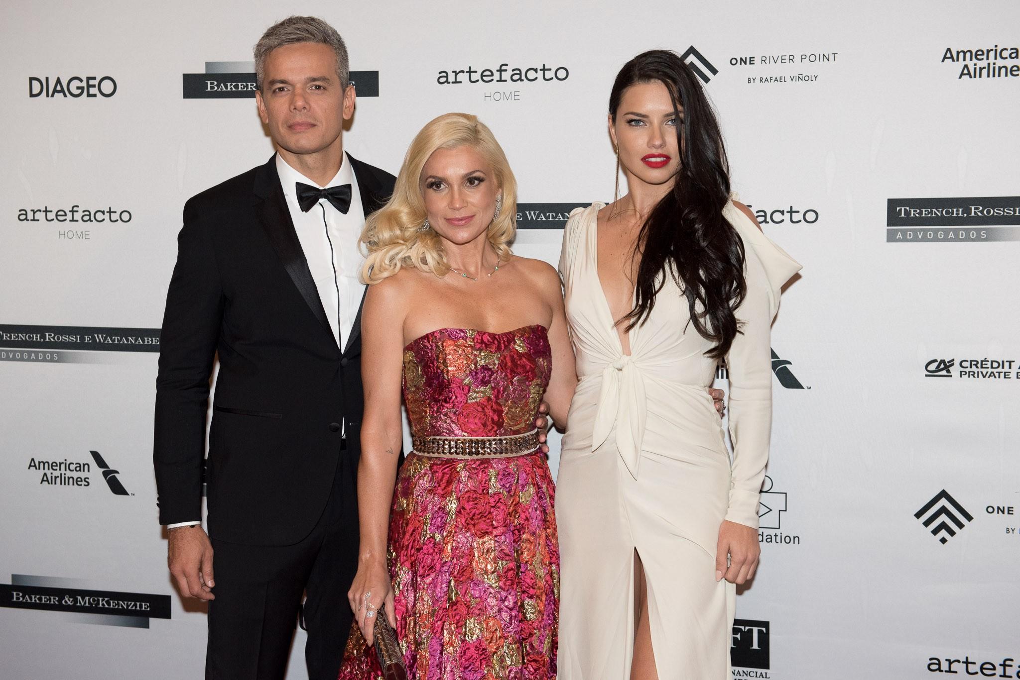 Flavia Alessandra, Otaviano Costa e Adriana Lima (Foto: Divulgação)