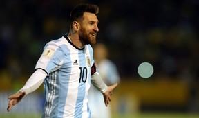 Lionel Messi Olímpico Atahualpa Equador Argentina