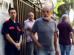 Ator Genézio Barros lamentou a perda repentina do amigo José Wilker (Foto: Flávia Rodrigues / G1)