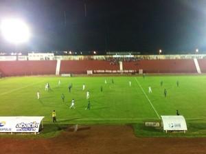 União e Cuiabá no Luthero Lopes (Foto: Assessoria/Cuiabá Esporte Clube)