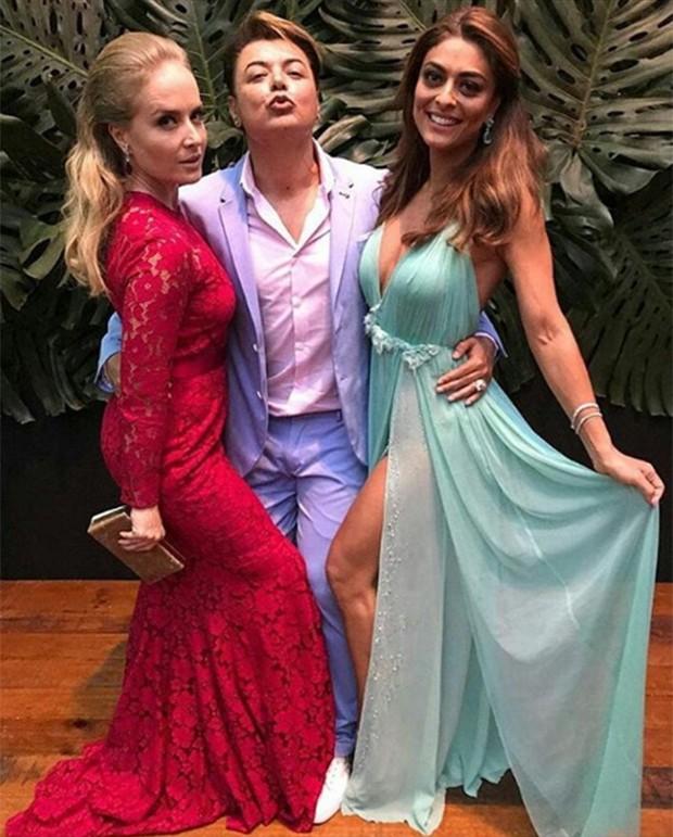 Angélica, David Brazil e Juliana Paes (Foto: Reprodução/ Instagram)
