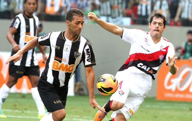 Pierre jogo Atlético-MG contra Vitória (Foto: Paulo Fonseca / Futura Press)