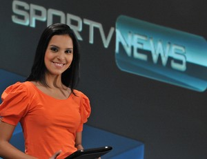 Aurora Bello apresentadora SporTV News manhã 3 (Foto: Divulgação SporTV)