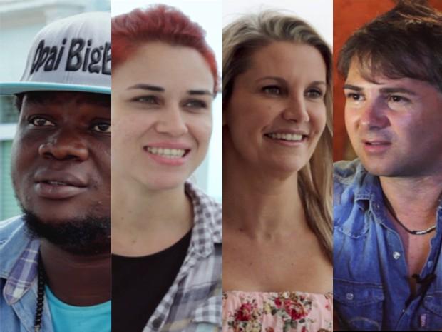 Pessoas de outros estados e países falam sobre João Pessoa (Foto: Ricardo Oliveira/G1)