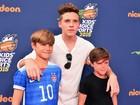 Irmãos Beckham são destaque em premiação nos Estados Unidos