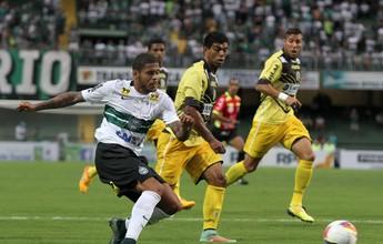 Contra ex-clube, Leandro busca primeiro gol com a camisa do Coritiba