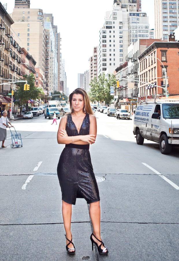 Fernanda Capobianco: sucesso entre as estrelas em Nova York (Foto: Divulgação)