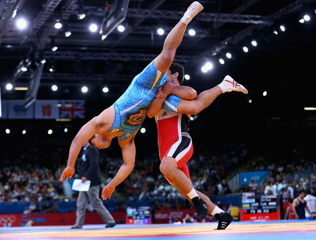 Luta Greco Romana Londres (Foto: Getty Images)