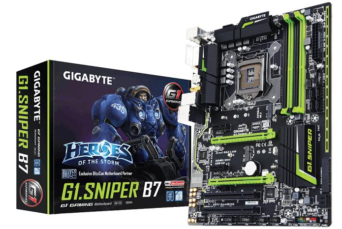 Gigabyte G1.SNIPER B7 DDR4 já ceita módulos de memória DDR4 (Foto: Divulgação/Gigabyte)  (Foto: Gigabyte G1.SNIPER B7 DDR4 já ceita módulos de memória DDR4 (Foto: Divulgação/Gigabyte) )