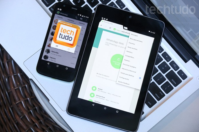 WhatsApp Web (Foto: TechTudo/Lucas Mendes)