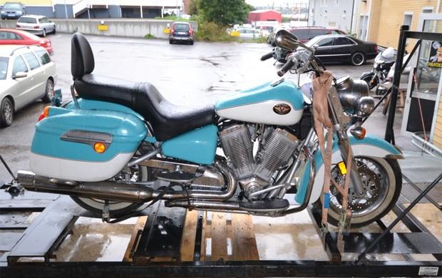 Fabricante Victory disse que moto voltou a funcionar (Foto: Divulgação)