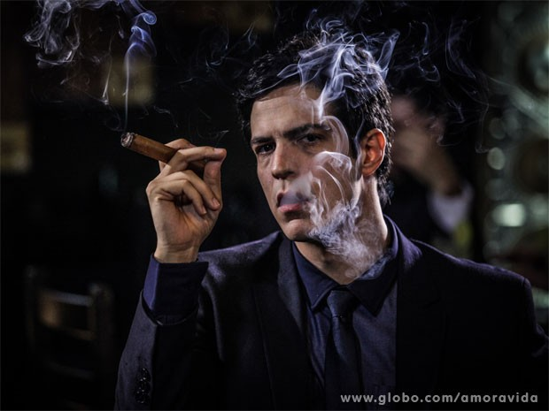 Mateus Solano  Flix, o vilo da prxima novela das 21h (Foto: Amor  Vida / TV Globo)