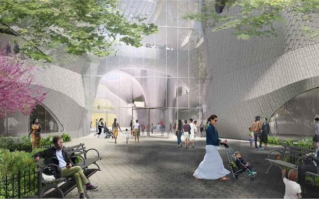 Museu de História Natural de Nova York vai ganhar prédio anexo (Foto: Divulgação)
