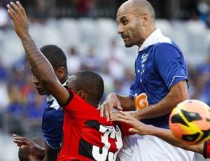 Bruno Rodrigo; Cruzeiro; Mineirão; Flamengo (Foto: Washington Alves / Vipcomm)