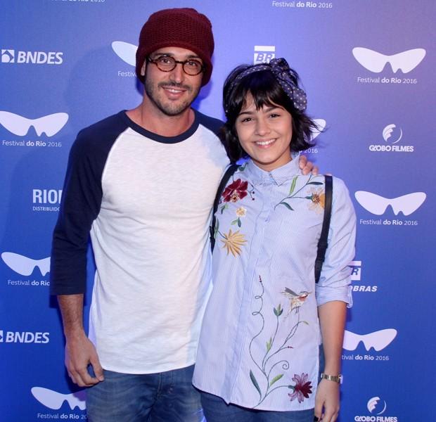 Giullia Buscacio e Leandro Pagliaro (Foto: Thyago Andrade/BRazil News)