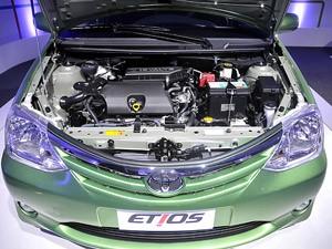 Motor é o ponto forte do Etios (Foto: Teylor Soares/G1)