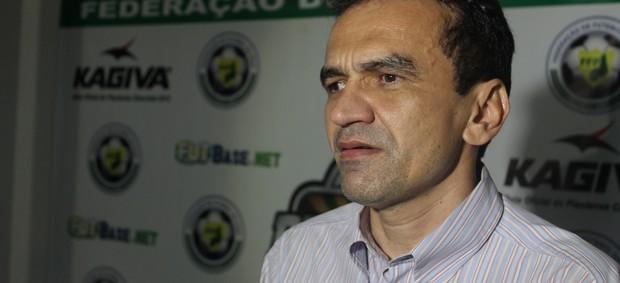 Elizeu Aguiar, presidente do River-PI (Foto: Josiel Martins)