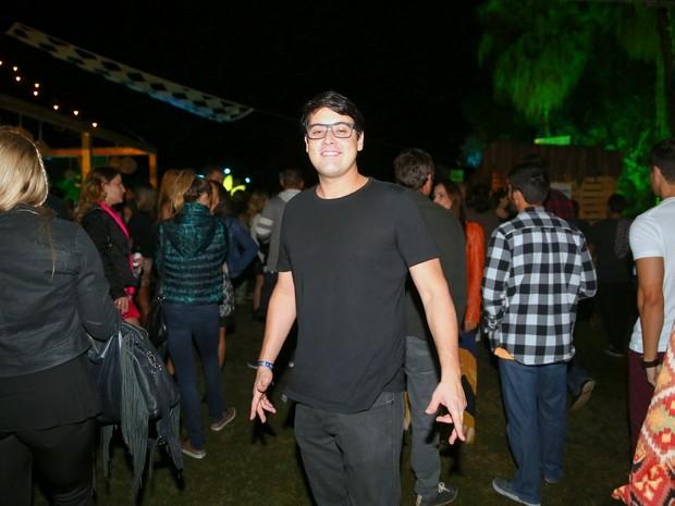 Bruno De Luca em festa no Rio (Foto: Ag. News)