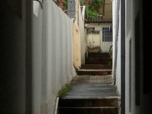 Tortura acontecia em casa no Centro de Campo Grande (Foto: Gabriela Pavão/ G1 MS)