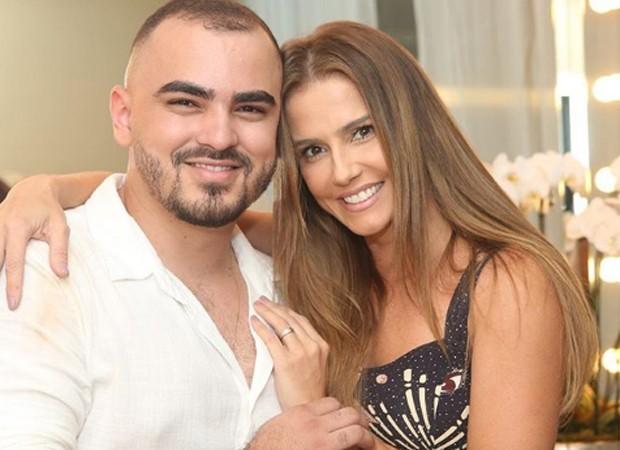 Lucas Vieira e Deborah Secco (Foto: Reprodução/Instagram)