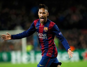 neymar paris saint germain x barcelona (Foto: Reuters)