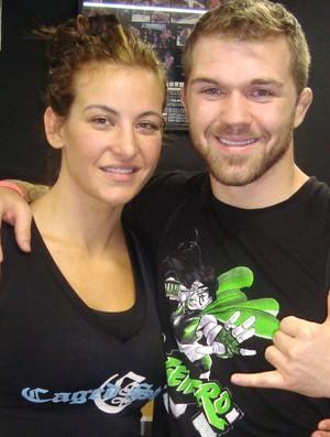 Bryan Caraway e Miesha Tate, MMA (Foto: Ivan Raupp / Globoesporte.com)