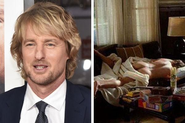 O ator Owen Wilson e seu dublê de corpo no filme Dois é Bom, Três é Demais (2006) (Foto: Getty Images/Reprodução)