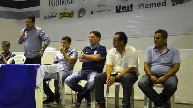 Ernando fez parte da mesa proletária (Foto: Felipe Martins/GLOBOESPORTE.COM)