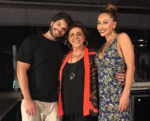 Leda Nagle com Duda e Sabrina Sato (Foto: Reprodução/Instagram)