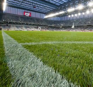 Arena da Baixada grama sintético Atlético-PR x Criciúma (Foto: Agência Estado)
