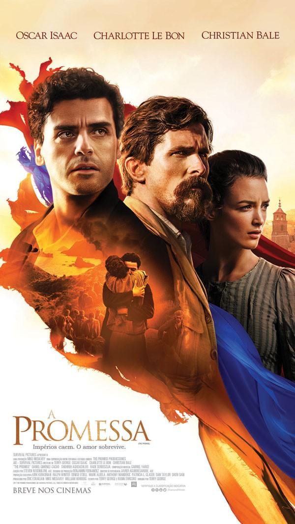 Cartaz do filme A Promessa (Foto: Divulgao)
