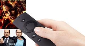 Controle remoto da Fire TV permite pesquisar por contéudo usando a voz (Foto: Divulgação/Amazon)