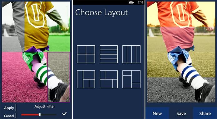 4Effects é um aplicativo para Windows Phone que adiciona quatro filtros na mesma imagem (Foto: Divulgação/Windows Phone Store)